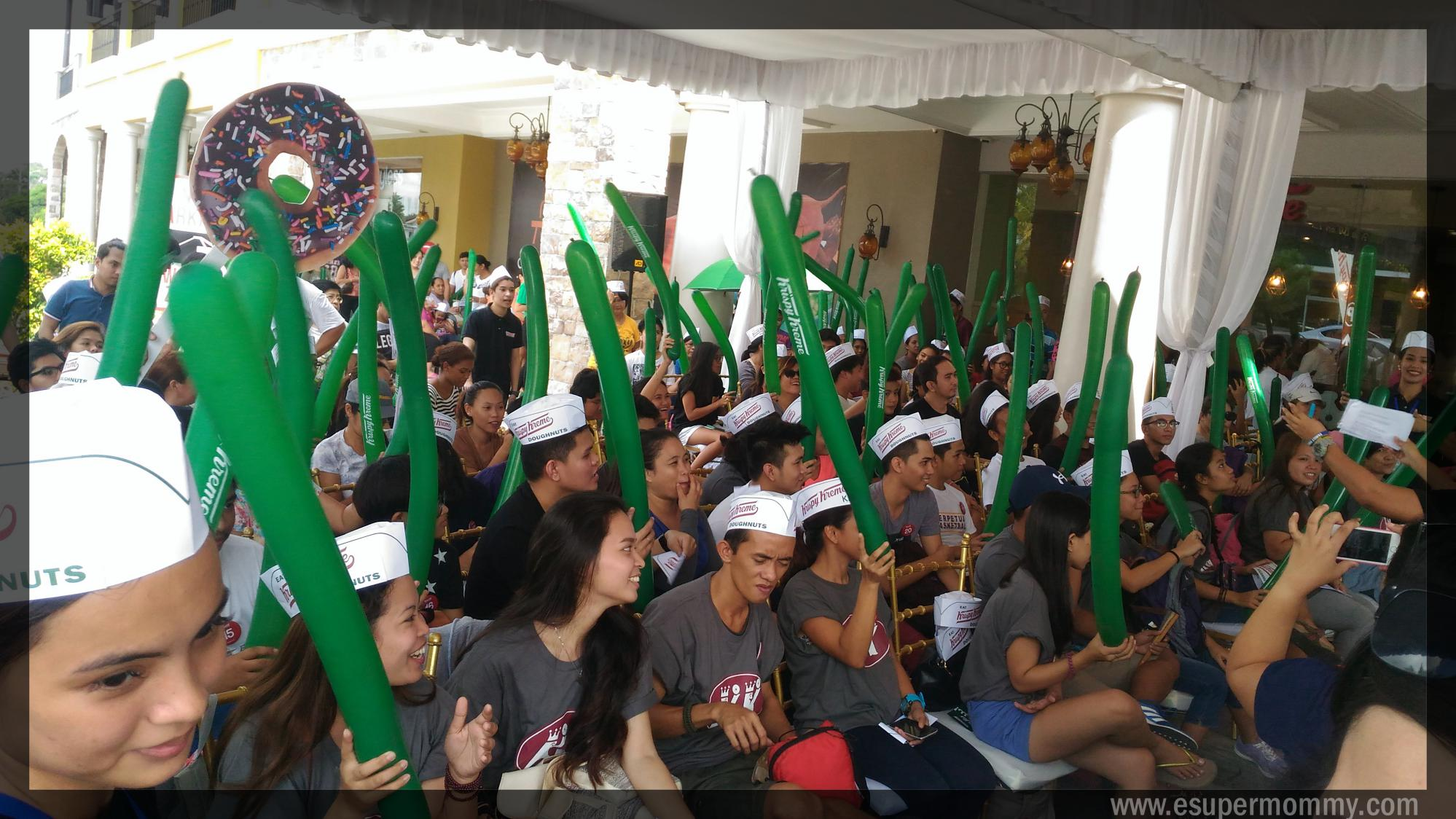 Krispy Kreme Evia Opening Day