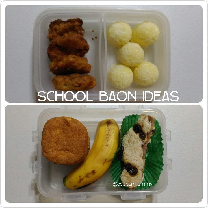 School Baon Ideas
