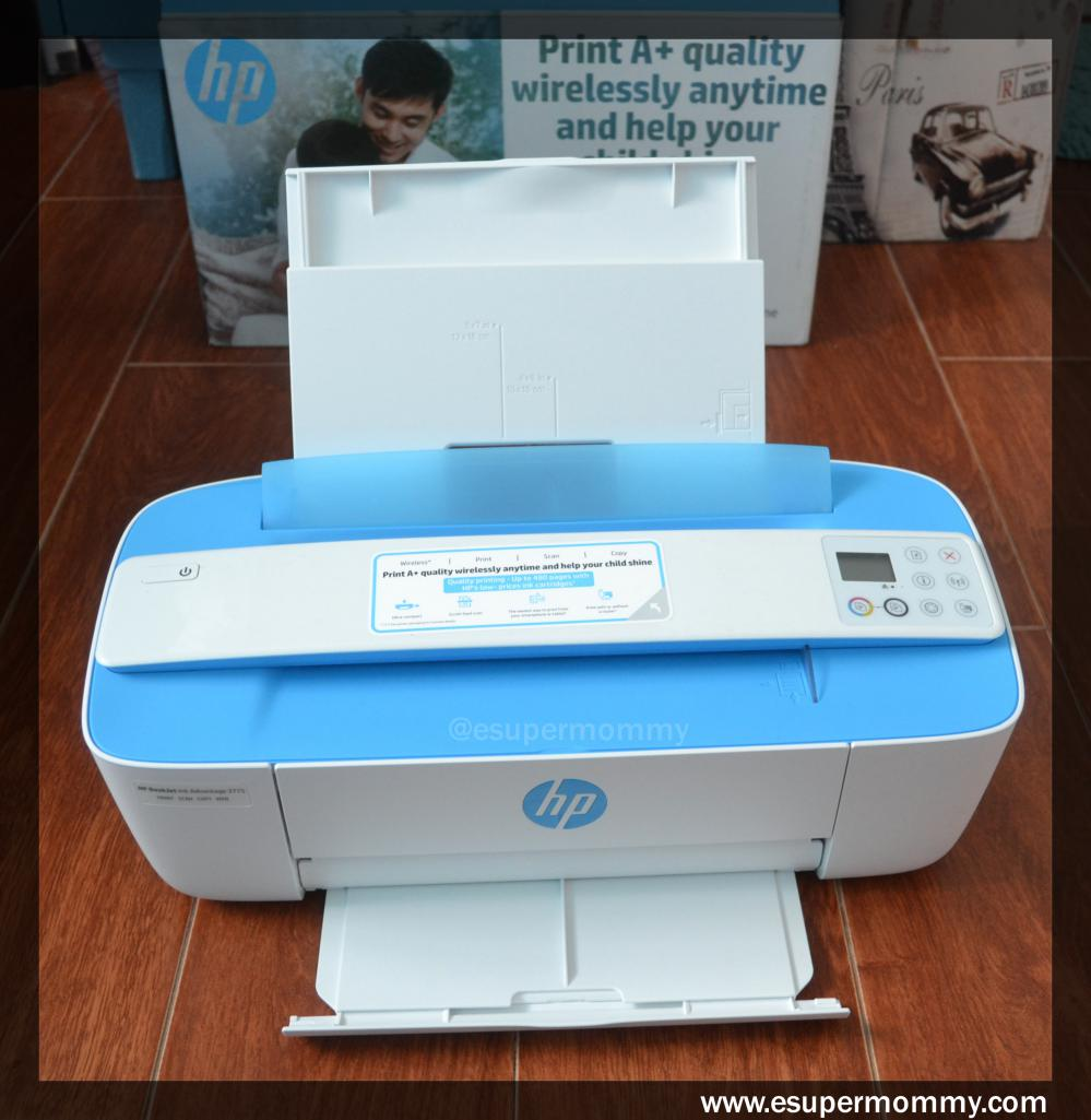 My HP Deskjet Ink Advantage 3775 review