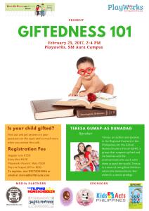 Giftedness101 talk