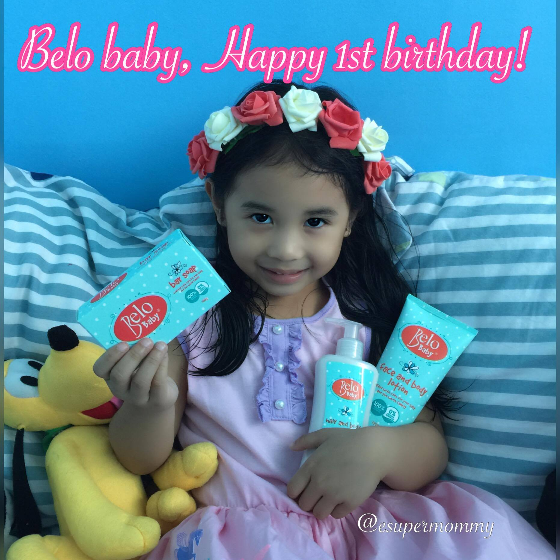 Belo Baby birthday Greetings