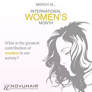 Novuhair for International Women's month