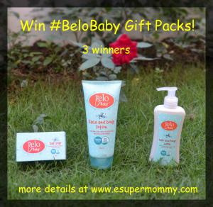 Experience Belo Baby Birthday Giveaway