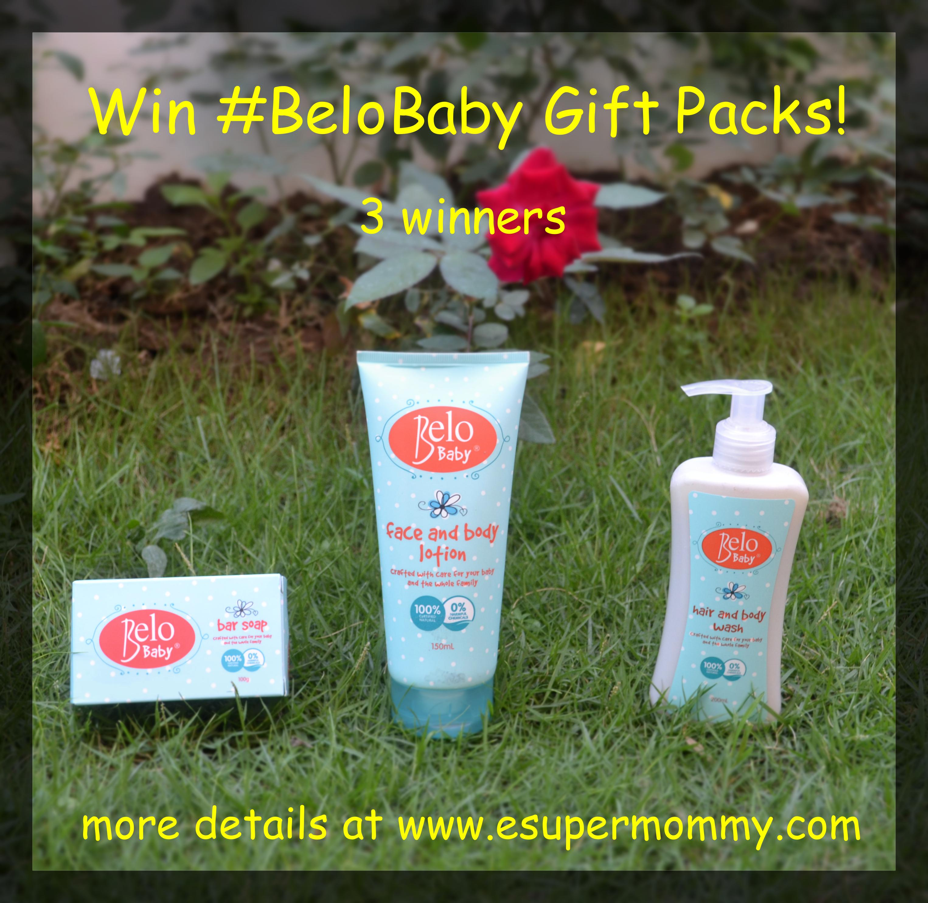 Belo Baby Birthday Giveaway