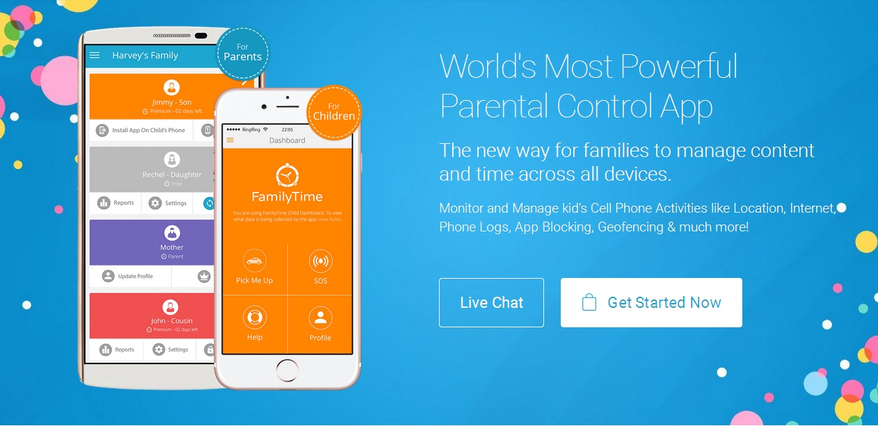 FamilyTime Parental Control App for Android