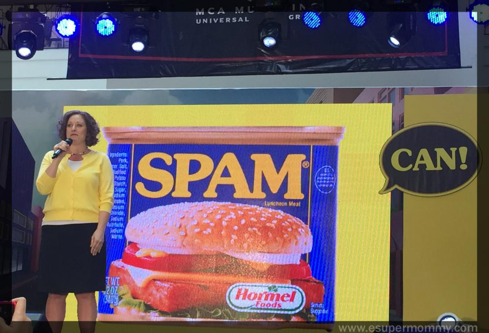 Jaynee Sherman who is the Senior Brand Manager of the SPAM® Brand, Hormel Foods International Division of Hormel Foods Corporation.
