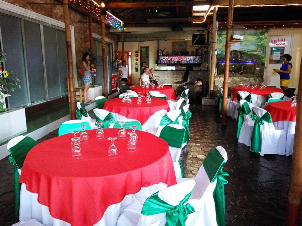 Cool Martin Family resort function area
