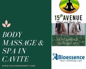 body massage and spa in Cavite
