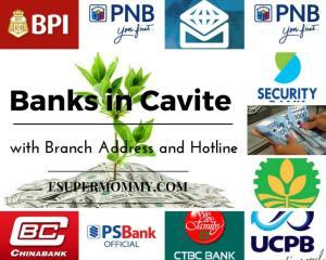 Banks in Cavite