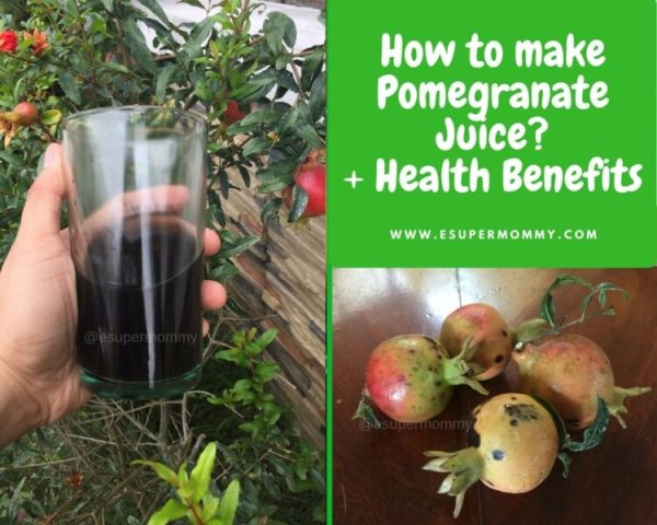 How to make Pomegranate Juice?