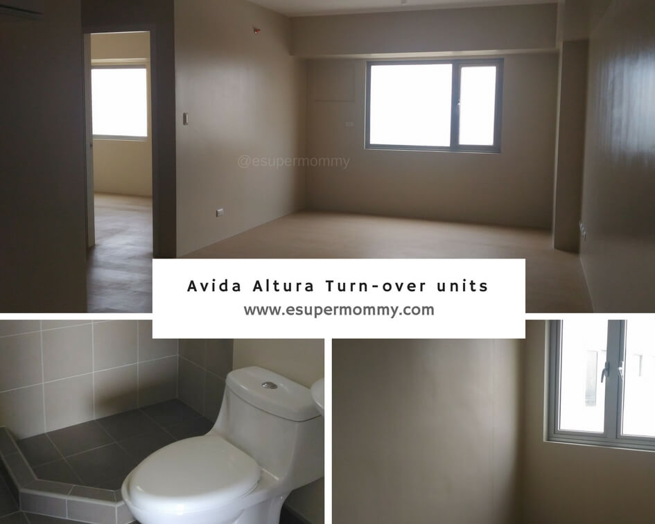 Avida Towers Altura Turn-over Units