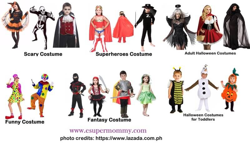 Halloween Costume at Lazada