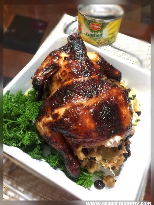Pine Roast Chicken Holiday