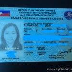 LTO Drivers License 2018
