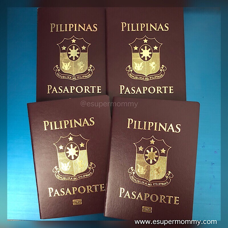 Philippine passport online application