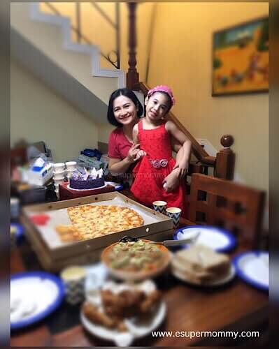 Mommy Jem with daughter Mary