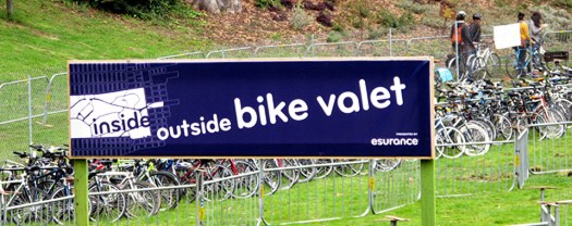 Outside Lands bike valet image