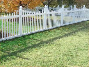 Assateague Vinyl Picket Fence