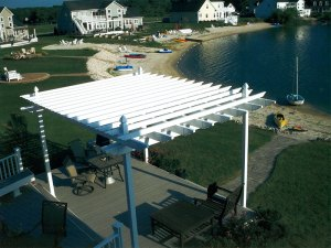 Consider having a pergola installed this spring!