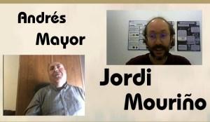 Andres Mayor con Jordi Mouriño