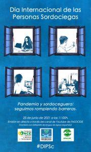 Cartel Día Mundial Sordoceguera
