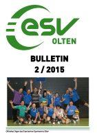 ESV Olten Bulletin 2/2015