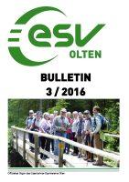 ESV Olten Bulletin 3/2016