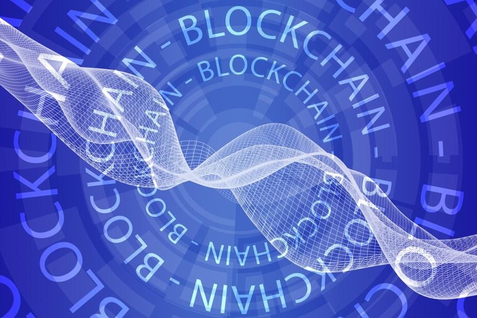 blockchain header for blog