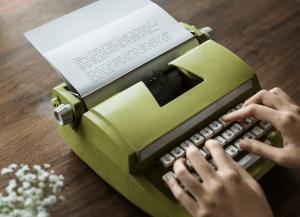 Type writer author