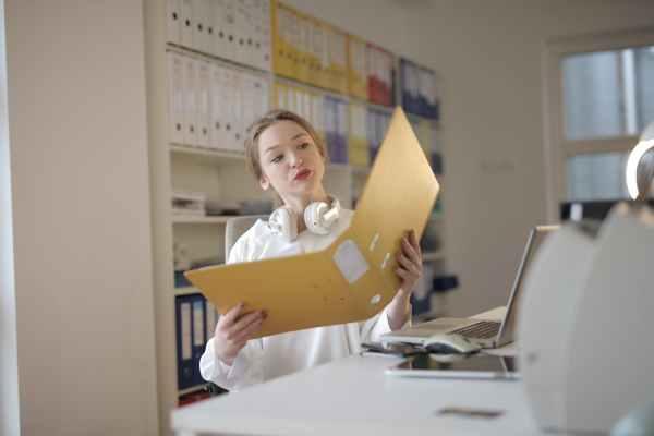 VA office assistant