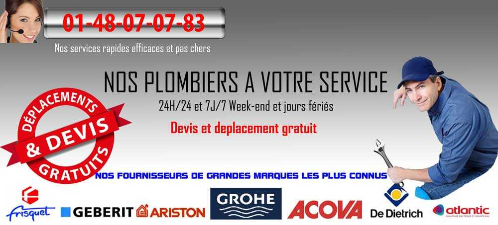 PLOMBIER Paris 75006
