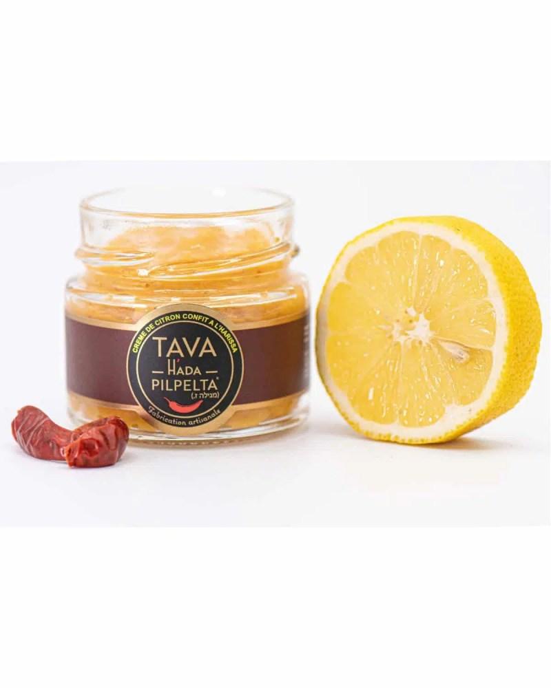 ingredients creme citron confit harissa tava hada pilpeta