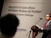 Presiden Jokowi KAA