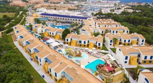 Hotel para niños Aparthotel Paradise Club & Spa, en Menorca