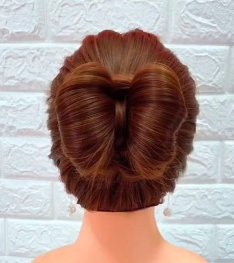 Girl Hairstyle Bow