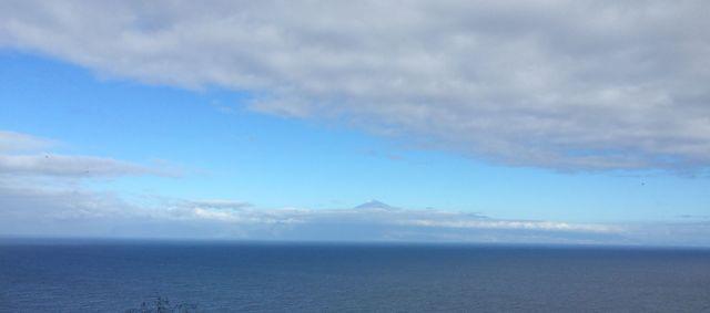 Den Teide, Teneriffa, sieht man stets - auf dem Weg nach Hermigua