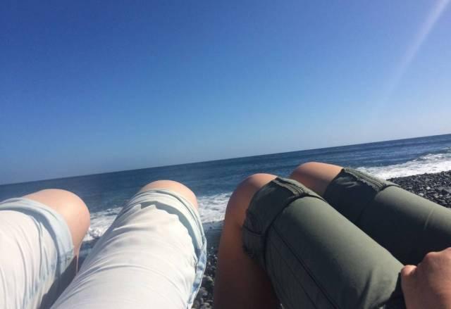 Wandern auf La Gomera bietet im Süden die Chance auf eine herrliche Badebucht