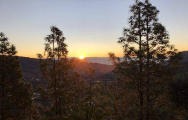 Sonnenaufgang in Tejeda