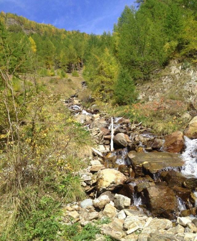 Wasserfall in Südtirol
