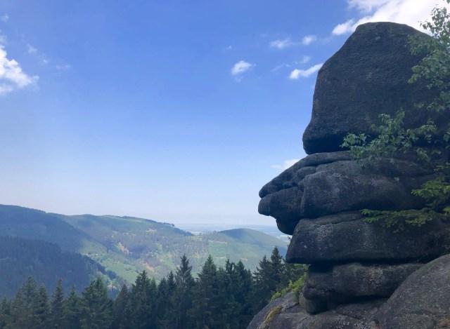 Kästeklippe im Harz
