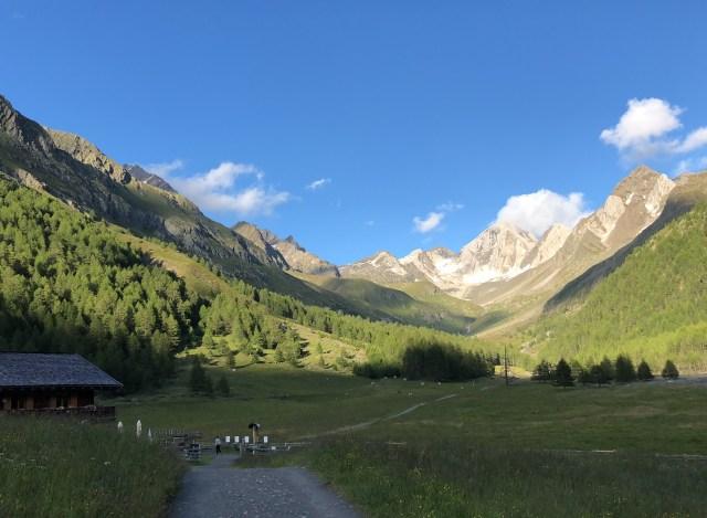 Südtirol Blick aufs Eisjöchl