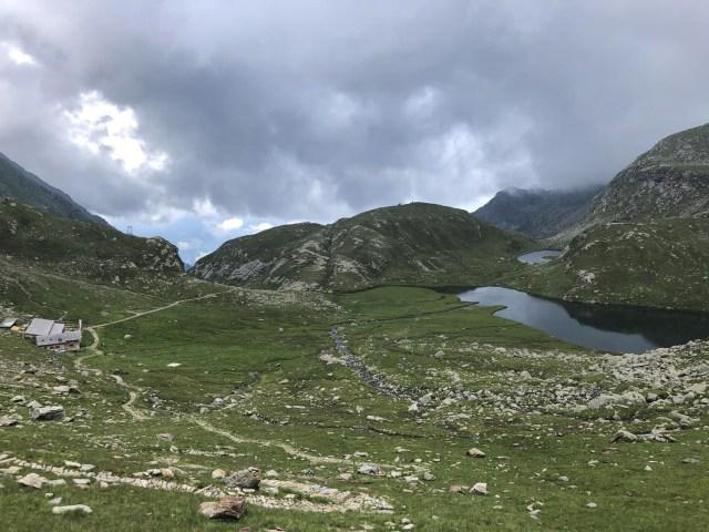 Kaserlake und Oberkaser bei meiner Rundwanderung Spronser Seen