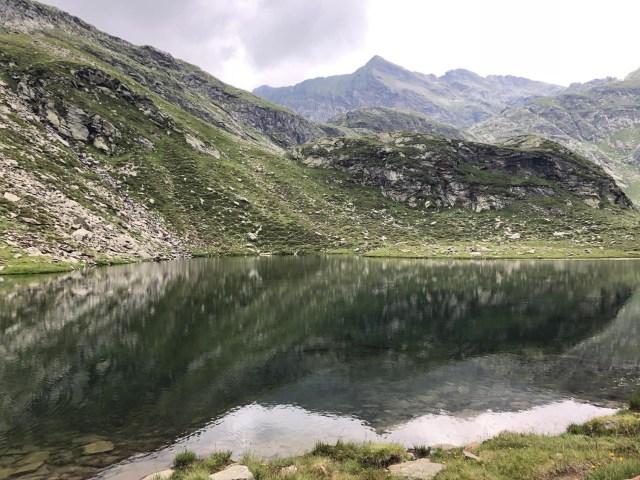 Kaserlake bei der Rundwanderung Spronser Seen