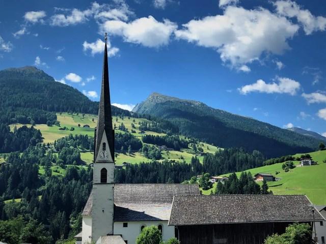 Kirche Moos im Passeier
