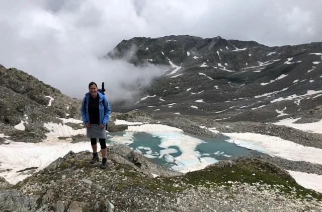 Wandern in den Alpen