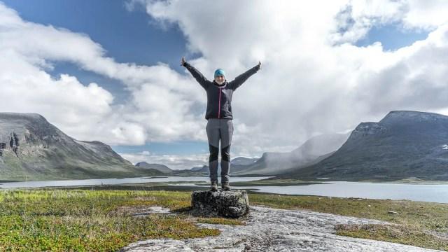 Trekking auf dem Kungsleden