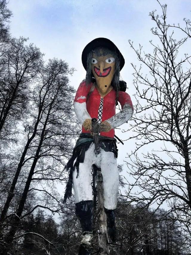 Hexe im Harz