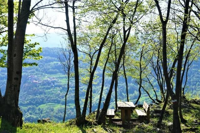 Pause auf dem Alpe-Adria-Trail