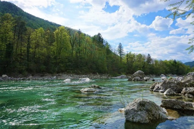 Soca in Slowenien