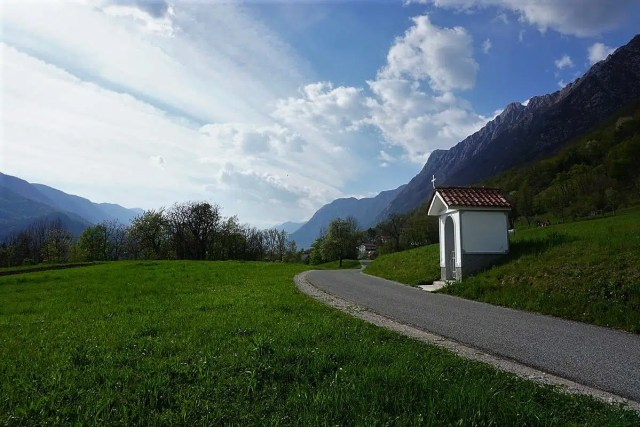 Alpe-Adria-Trail im April